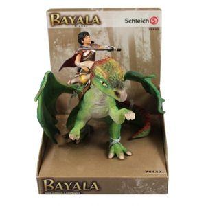 Schleich 70447 - Bayala Kishay Drachenreiter mit Schwert und Drache Nugur NEU