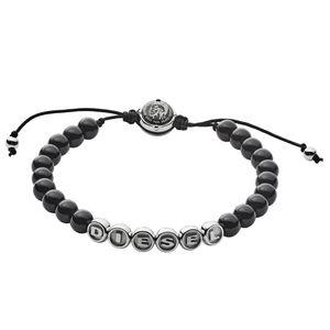 Diesel Herren-Armband Beads aus Edelstahl DX1088040