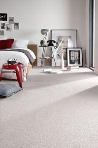 Einfarbiger Teppich Trendy für Zimmer, Wohnzimmer, Schlafzimmer, Teppichboden Auslegware, Verschiedene Größen weiß 200x200 cm
