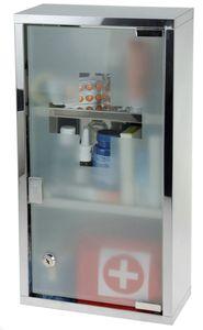 Medicine cabinet -  groß - Edelstahl