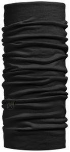 Buff Lightweight Merino Wool Schlauchschal solid black