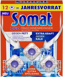 Somat Duo Maschinenreiniger Tabs Geschirrspül Reiniger 12 Stück Spülmittel
