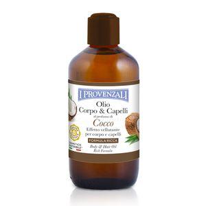 I Provenzali Haaröl und Körperöl mit Kokosduft 200 ml