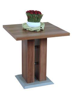 Säulentisch, 70x70 cm Ariane