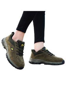Gleicher Stil Für Männer Und Frauen Outdoor-Sportschuhe Atmungsaktive Rutschfeste Flache Schuhe Klettertrainingsschuhe,Farbe: Armeegrün,Größe:43
