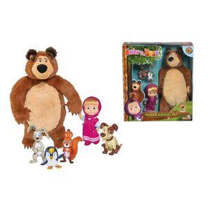 Smoby 109301073, Mehrfarben, 3 Jahr(e), Mascha und der Bär, Junge/Mädchen, Jahresende, Frühe Kindheit