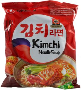 Kimchi Instant Nudelsuppe Nong Shim 120g