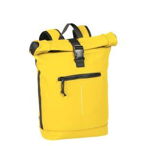 New Rebels New-Rebels® Mart - Roll-Top - Backpack - Yellow - Large II - 30x12x43cm - Backpack