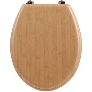 MDF WC-Sitz, Bambus Effekt, Universal - 5five Simple Smart