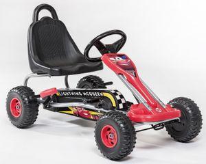 Go-Kart Cars rot / schwarz 89 x 78 x 52 cm