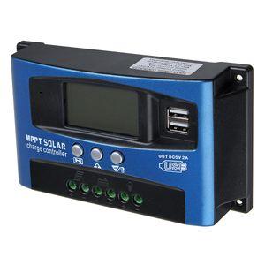 100A MPPT Solar Laderegler Solarregler Solarpanel Controller Regulator