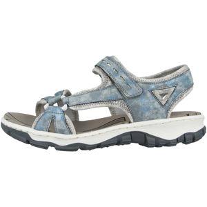 Rieker 68879 Schuhe Damen Trekking Sandalen  , Größe:39 EU, Farbe:Blau