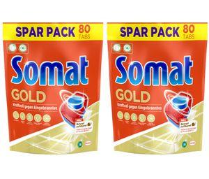 Somat Spülmaschinentabs Multi-Aktiv 12 Gold 2er Pack Spülmittel Spülen Reinigung