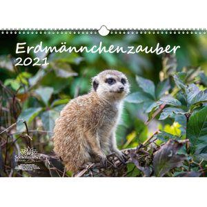 Erdmännchenzauber DIN A3 Kalender für 2021 Erdmännchen - Seelenzauber