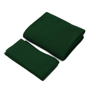 Pool Billard Tuch Billardtuch für 9 ft Billardtisch, Farbe: Grün
