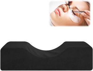 Wimpernkissen – Professionelle U-Form Wimpernverlängerung Kissen Beauty Salon Nackenstütze (Schwarz)
