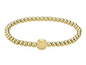LIEBESKIND LJ-0070-B-17 Damen Armband Edelstahl Gold 17 cm