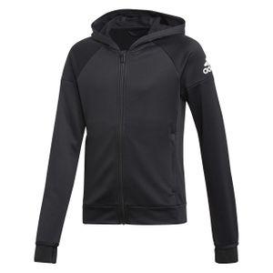 adidas Mädchen Trainingsjacke Equipment BLACK/WHITE 140