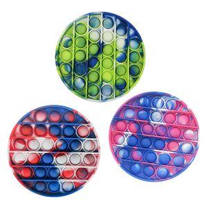 3X Push Pop It Pop Bubble Spielzeug,Verwendet für Autismus, Stress Abzubauen Braucht zappeln Spielzeug