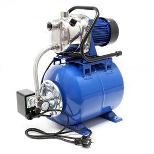 Hauswasserwerk 3400l/h 1200W 19l Membrankessel Druckschalter Gartenpumpe