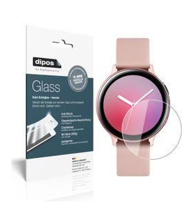 2x Samsung Galaxy Watch Active 2 40mm Schutzfolie - Panzerfolie 9H Folie dipos