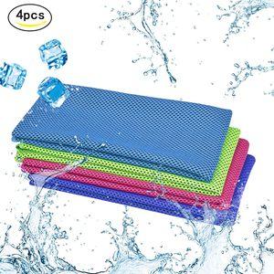 3 Stück Kühlendes Handtuch, Cooling Towel 30 x 80 cm, Sporthandtuch Ultraleicht Kühltuch, Schnelltrocknend Reisehandtuch, Mikrofaser Handtuch für Sport & Fitness, Laufen, Reise & Yoga