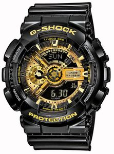 G-Shock Uhr GA-110GB-1AER Armbanduhr analog digital