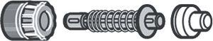 Silit 1 x Druckanzeiger-Garnitur Sicomatic-L 2150070566