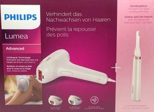 Philips BRI923/00 Lumea Advanced IPL Haarentfernungsgerät, 3 Aufsätze für Körper, Gesicht, Bikini-Zone, Präzisionstrimmer