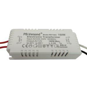 LED mini Trafo 0- 80 Watt 12V AC Transformator Netzteil Halogen 160W