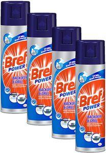 Bref Sidol Power Backofen & Grill Reiniger 4x500 ml Reinigungsmittel Sauberkeit