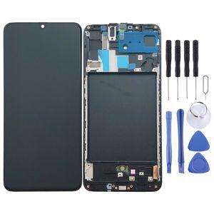 Samsung Display LCD Kompletteinheit für Galaxy A70 A705F GH82-19747A Schwarz