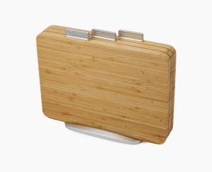 Joseph Joseph Index - 3-teiliges Schneidebrett-Set - bamboo