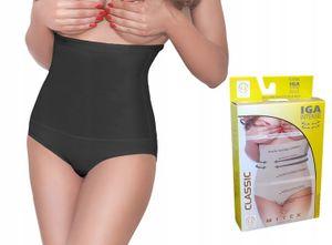 MITEX IGA INTENSE Slimming Damen Taillenformer Unterhose körperformer SCHWARZ M