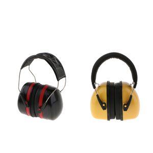 2x Professionelle Ohrschützer Schalldichte Gehörschutz-Kopfhörer Hoher Lärmschutz