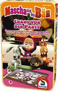 Schmidt Spiele 51289 - Mascha und der Bär, Chaos vor der Party