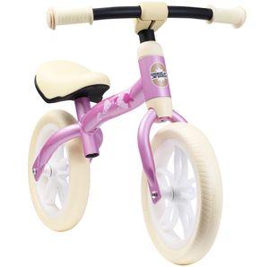 BIKESTAR Leichtes (3KG!) Mitwachsendes Kinder Laufrad ab 2 - 3 Jahre   10 Zoll Lauflernrad   Pink