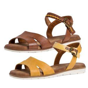 Tamaris Damen Sandalen Sandaletten 1-28110-26, Größe:39 EU, Farbe:Braun