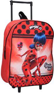 Miraculous Ladybug Trolley Kinderkoffer 39 cm Neu