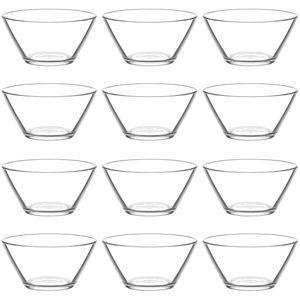 12x LAV Vega Glasschalen Set Dessertschale Knabberschale Müslischalen 345 ml VEG267