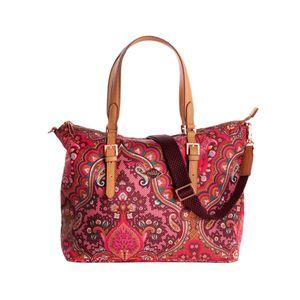 Oilily Paisley Hand Bag Cherry