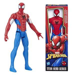 Hasbro E2343 Marvel Avenger Web Titan Heroes Spider-Man Deluxe Figur 30cm Neu