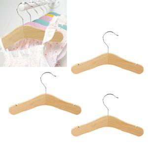 3 Stück Kinder Baby Kinder Holz Mantel Kleidung Hosen Haken Kleiderbügel Stehen