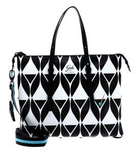 Gabs Glamour Flat Shopping Bag Cocktail B / W