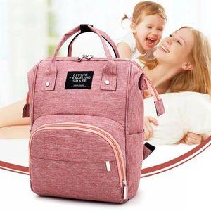 Wickeltasche Pflegetasche Windeltasche Babytasche Wickelrucksack Babytasche Grau 25*17*37cm