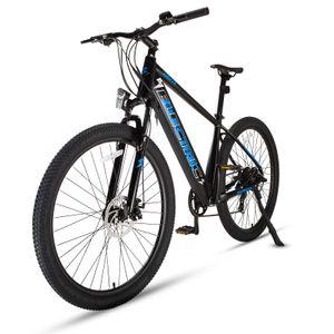 FAFREES 27,5 Zoll E-Bike Hardtail Pedelec Elektrofahrrad Fahrrad Electric Bike E-MTB Mountainbike Elektrofahrrad Citybike Elektrofahrrad mit LED Leucht Scheinwerfer 25km/h 250W 36V 10Ah