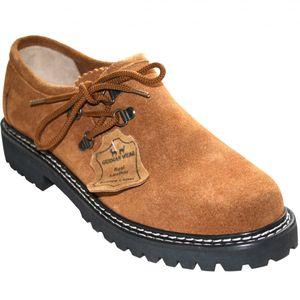 Trachtenschuhe Haferlschuhe für Trachten lederhosen, Schuhgröße:46