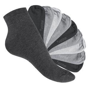 10 Paar SNEAK IT! Uni Kurzschaft Sneaker - Classic Grey - 43-46