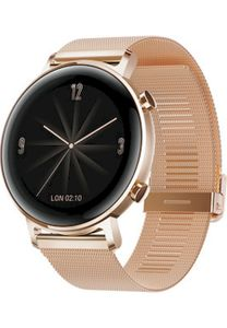 Huawei Watch GT2 42mm Elegant refined gold, Farbe:Gold