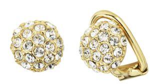 Traveller - Ohrclip - Swarovski crystals - 22ct vergoldet - 157420